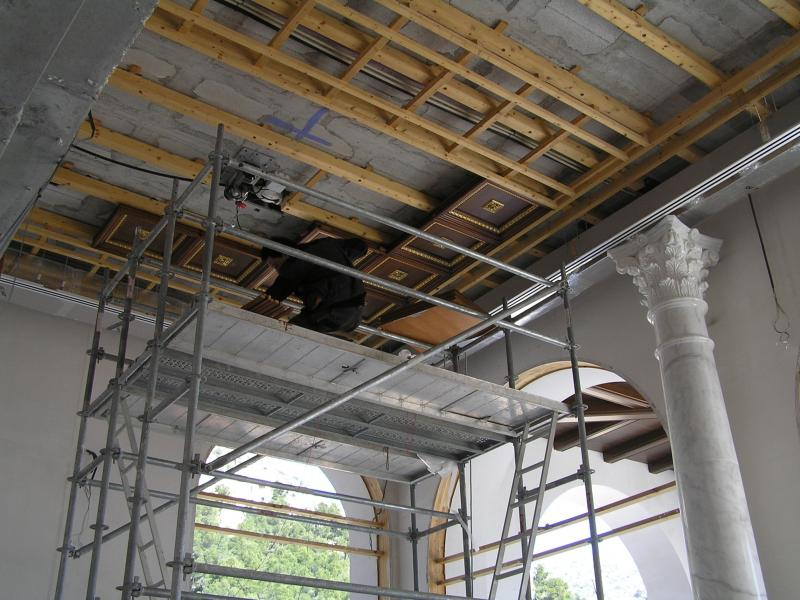 montaje de techos en madera montajes m3