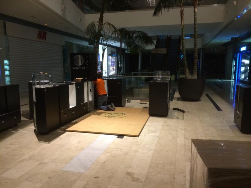montaje de mobiliario comercial internacional