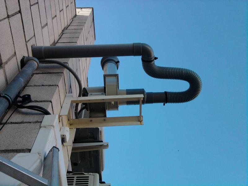 instalacion de ventilacion vitrinas de gases montajes m3