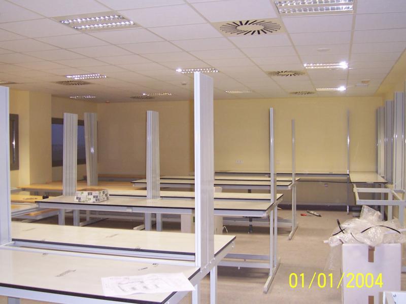 montaje de mobiliario hospitalario montajes m3