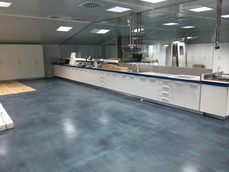 remodelacion de mobiliario de laboratorio montajes m3