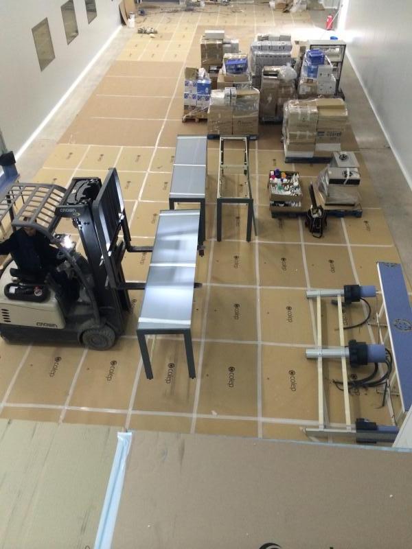 traslado de mobiliario de laboratorio montajes m3