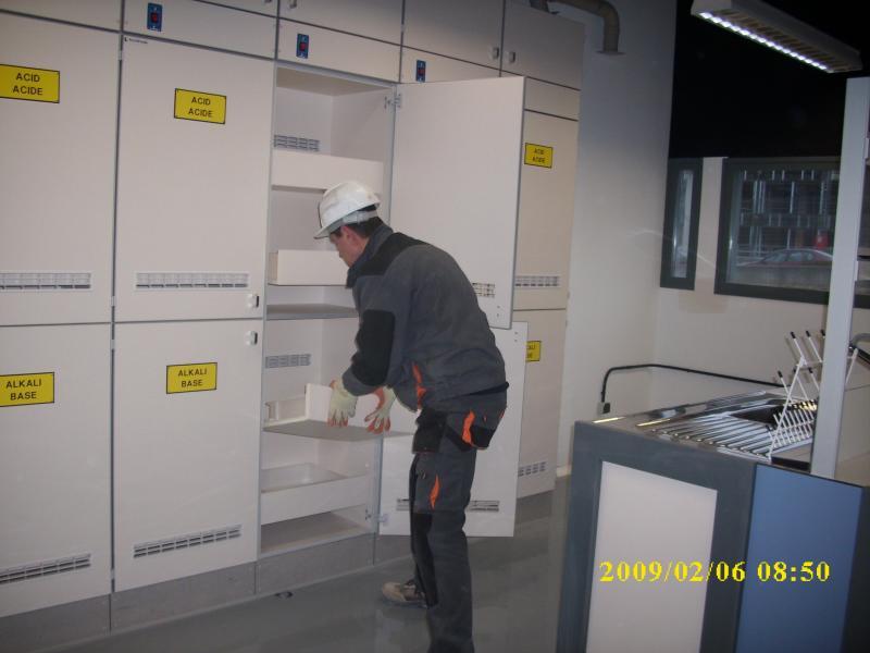 montaje de armarios de gases montajes m3