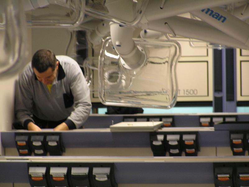 instalacion electrica de mesas de laboratorio montajes m3