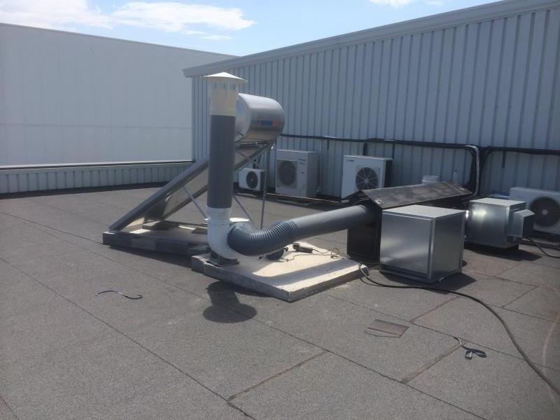 instalacion de vitrinas de gases montajes m3