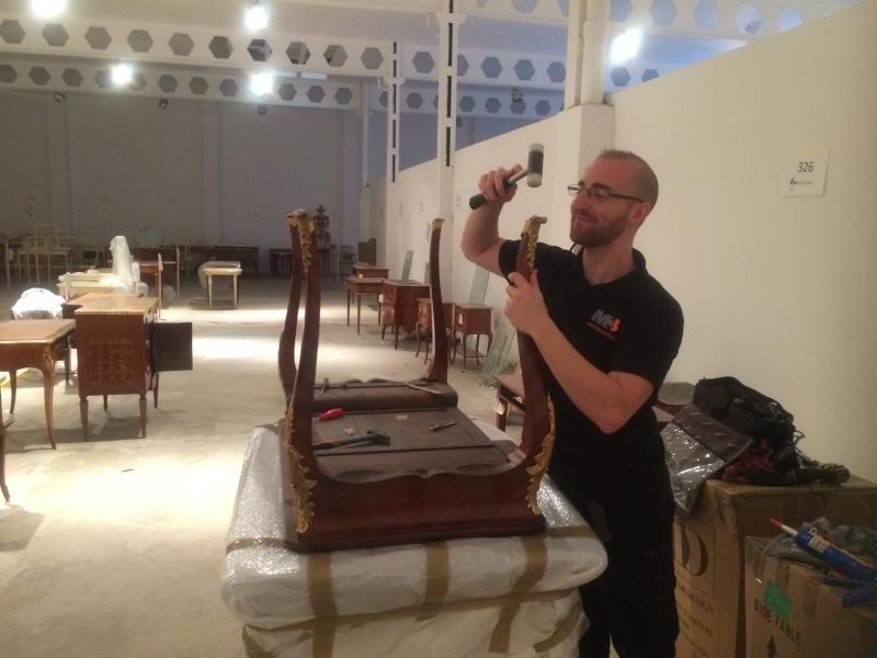 reparaciones y mantenimiento en mobiliario de hoteles montajes m3