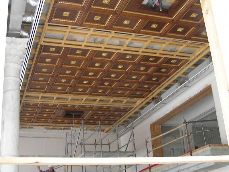 montaje de techos artesonados   montajes m3