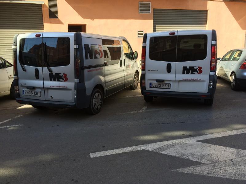 montaje de muebles furgonetas MONTAJESM3